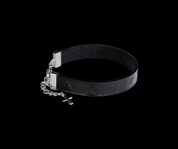 Bilde av VERA DESIGN Infinity Bracelet Black leather