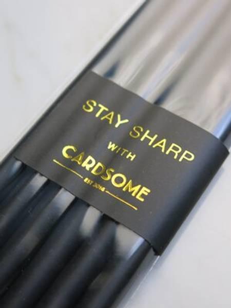Bilde av CARDSOME STAY SHARP PENCIL, 6-pack