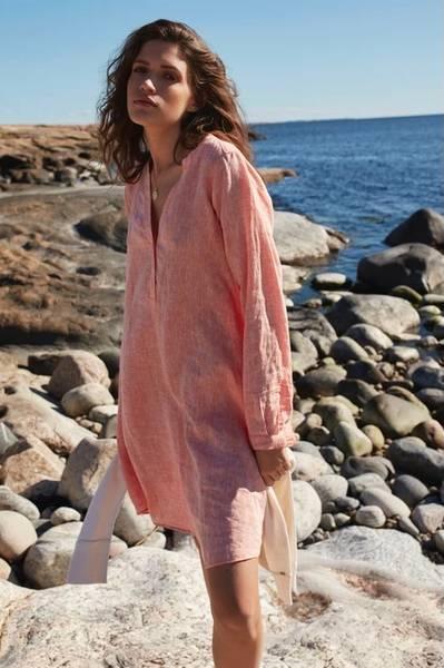Bilde av KATRIN URI CARMEL EVA LINEN DRESS