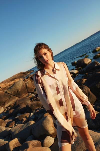 Bilde av KATRIN URI NEW YORK ISOLA DRESS ROSE