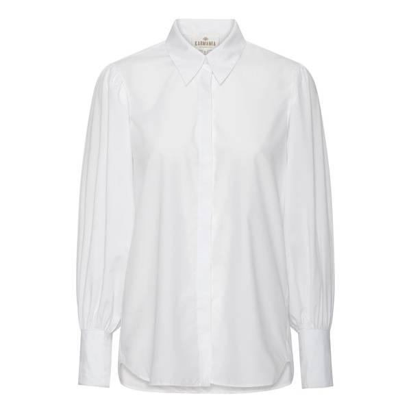 Bilde av  KARMAMIA Paula shirt White Cotton